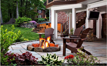 Fire Pit For Wood Deck Featured Image