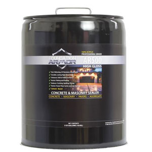 Foundation Armor High Gloss Solvent-Based Acrylic Concrete Sealer and Paver Sealer