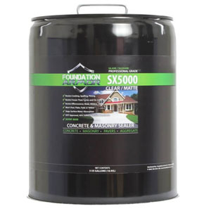 Foundation Armor Solvent-Based Silane-Siloxane Concrete & Masonry Sealer