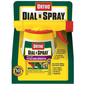 Ortho Dial N Spray Multi-Use Hose-End Sprayer