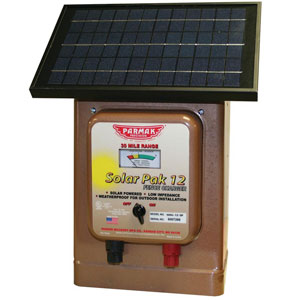 Parmak Magnum Solar-Pak 12 Electric Fence Charger