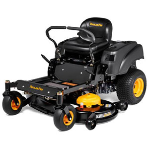 Poulan Pro Zero Turn Riding Mower with Steelguard