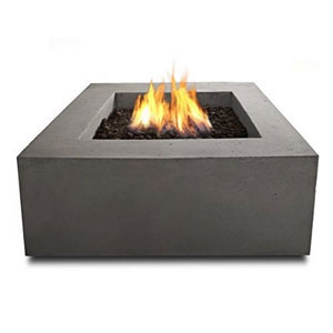 Real Flame Baltic Square Natural Gas Table