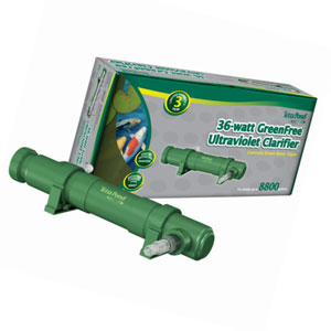 TetraPond GreenFree UV Clarifier for Clean