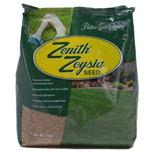 Zenith Zoysia Grass Seed 100% Pure Seed