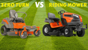 Zero Turn Vs Riding Mower Differences